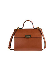 Lodis Bree Leather Crossbody Bag