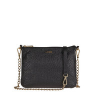 Lodis Leather Crossbody Clutch