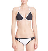 Polo Ralph Lauren Bonded Mesh Triangle Bikini Top