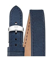 Michele 16Mm Navy Leather Strap Ms16bx270400