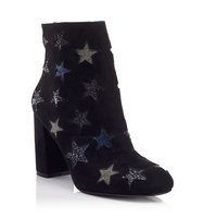 Miss Selfridge Womens AMAZE Star Boots Black