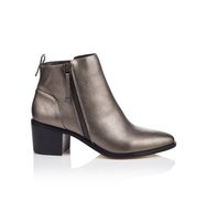 Miss Selfridge Womens ARIZONA Western Boots Pewter Colour