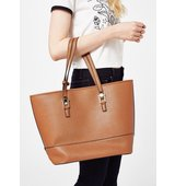 Miss Selfridge Womens Scratchy Faux Leather Bag Tan