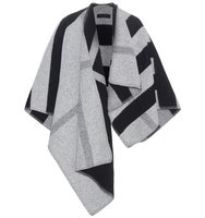 Burberry Wool And Cashmere Poncho