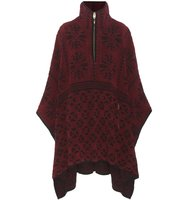 Chloe Knitted Wool And Cashmere Poncho