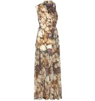 Christopher Kane Sleeveless Floral Printed Dress
