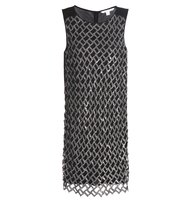 Diane von Furstenberg Joylyn Embellished Shift Dress