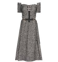 Dolce and Gabbana Knitted Wool Alpaca And Mohair Blend Dress