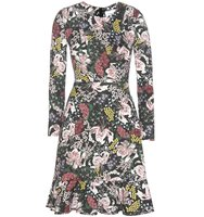 Erdem Judy Printed Jersey Dress