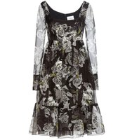 Erdem June Printed Silk Dress