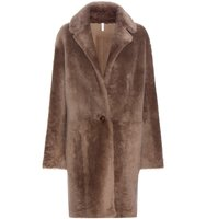 Helmut Lang Reversible Fur And Leather Coat