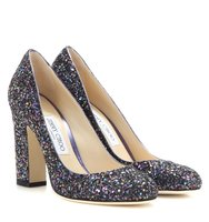Jimmy Choo Billie 100 Glitter Pumps