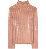 Nina Ricci Embellished Wool Blend Sweater