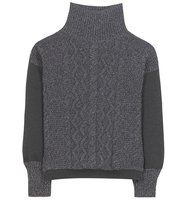 Tomas Maier Knitted Wool Blend Sweater