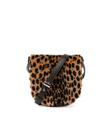 Alexander Wang Mini Lia Printed Kangaroo Fur Crossbody Bag