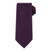 Boss Hugo Boss Diamond Printed Silk Tie