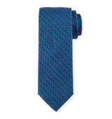 Brioni Neat Multicolored Dot Print Tie