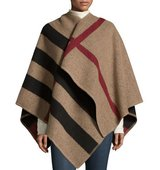 Burberry Mega Check Cape