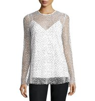 Camilla and Marc Long Sleeve Mesh Tunic