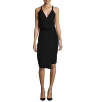 Camilla and Marc Sleeveless Faux Wrap Dress