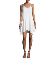 Camilla and Marc Spaghetti Strap Popover Hanky Dress