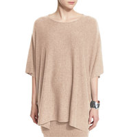 Eileen Fisher Fisher Project Wool Poncho Top