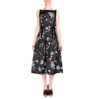Erdem Adelle Sleeveless Floral Print Sundress
