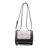 Givenchy Pandora Box Mini Snakeskin Shoulder Bag