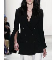 Prabal Gurung Bell Sleeve Double Breasted Jacket