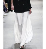 Prabal Gurung Tailored Wide Leg Silk Pants