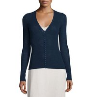 THE ROW Jair V Neck Button Front Cardigan
