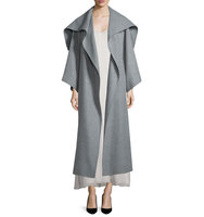 THE ROW Lanja Shawl Collar Belted Coat