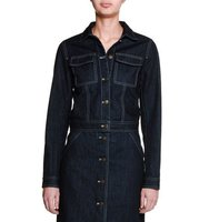 Tomas Maier Button Front Denim Jacket