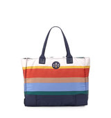 Tory Burch Tory Burch Ella Printed Packable Tote Bag