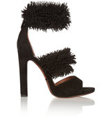 Alaa Fringed Suede Sandals