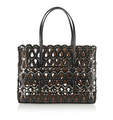 Alaa Studded Laser Cut Leather Tote