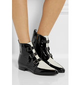 Jimmy Choo Marlin Patent Leather Ankle Boots