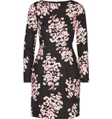 Karla Floral Print Stretch Cotton Mini Dress Jonathan Saunders