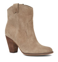Nine West Blakbird Pull On Booties Natural