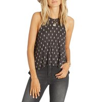 Billabong Real Love Print High Neck Tank
