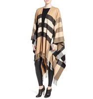 Burberry Mega Check Cashmere Cape