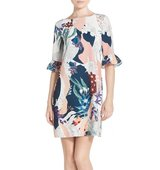 Chelsea28 Floral Print Shift Dress