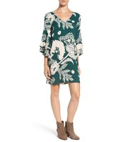 Ella Moss Riya Bell Sleeve Shift Dress