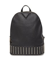 Emperia Studded Faux Leather Backpack