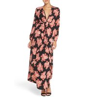 Fraiche By J Floral Maxi Dress