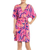 Lilly Pulitzer Amoritta Print Wrap Dress
