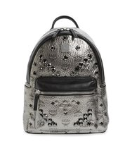 Mcm Small Stark Studded Backpack