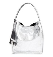 Proenza Schouler Medium Metallic Sunset Crackled Leather Tote