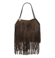 Stella Mccartney Small Fallabella Faux Leather Fringed Tote
