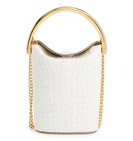 Stella Mccartney Small Ring Faux Leather Bucket Bag